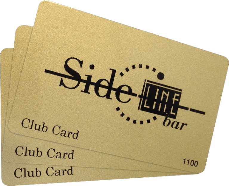 membership card sideline bar
